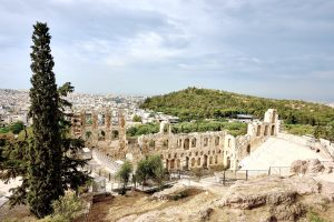 The Odeion of Herodes Atticus