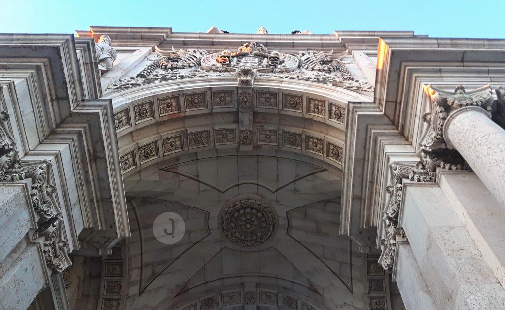 The Rua Augusta Arch