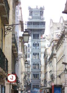 The Santa Justa elevator