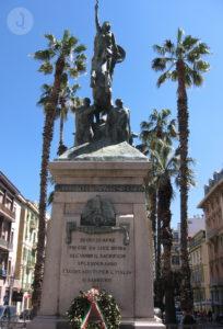The Monumento ai caduti