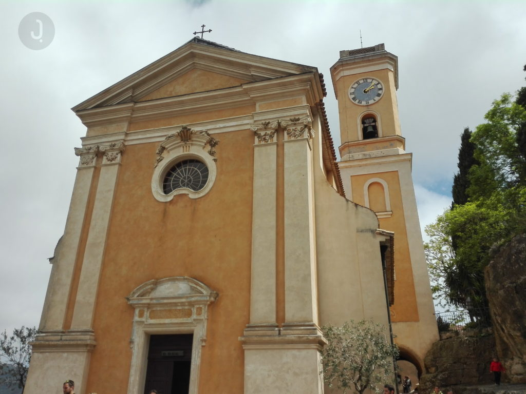 The Church of Our Lady of the Assumption of Eze