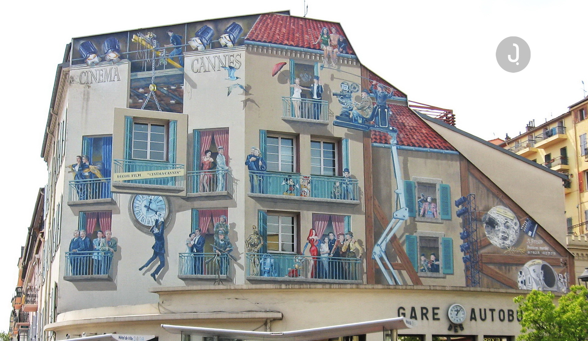 Cannes Film Murals