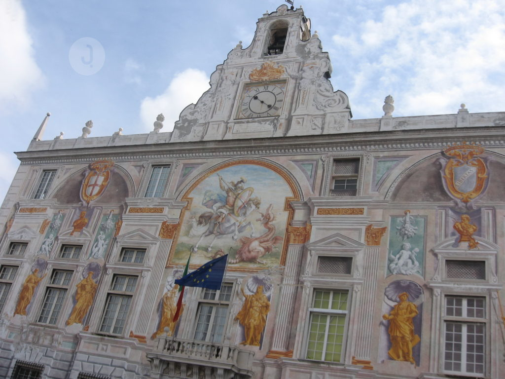 The Palace of St. George (Palazzo San Giorgio)
